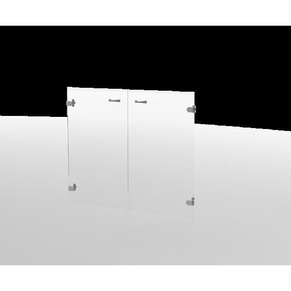 Двери стеклянные ДС12
