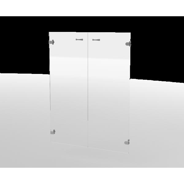 Двери стеклянные ДС22