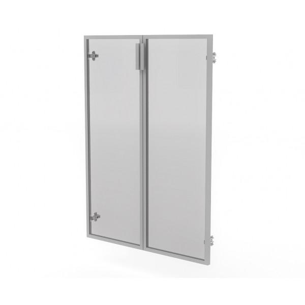 Двери (в алюм. рам) МСМ22