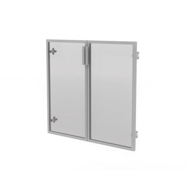 Двери (в алюм. рам) МСМ12